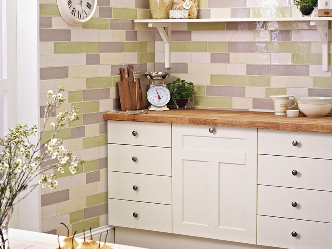 cottage kitchen british ceramic tile