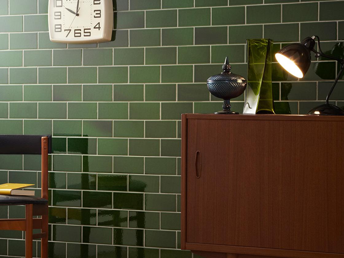 Retro Racing Green | British Ceramic Tile