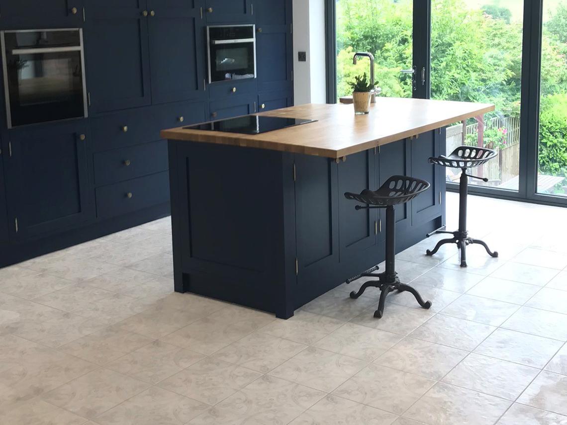 Rob Kitchen Makeover British Ceramic Tile