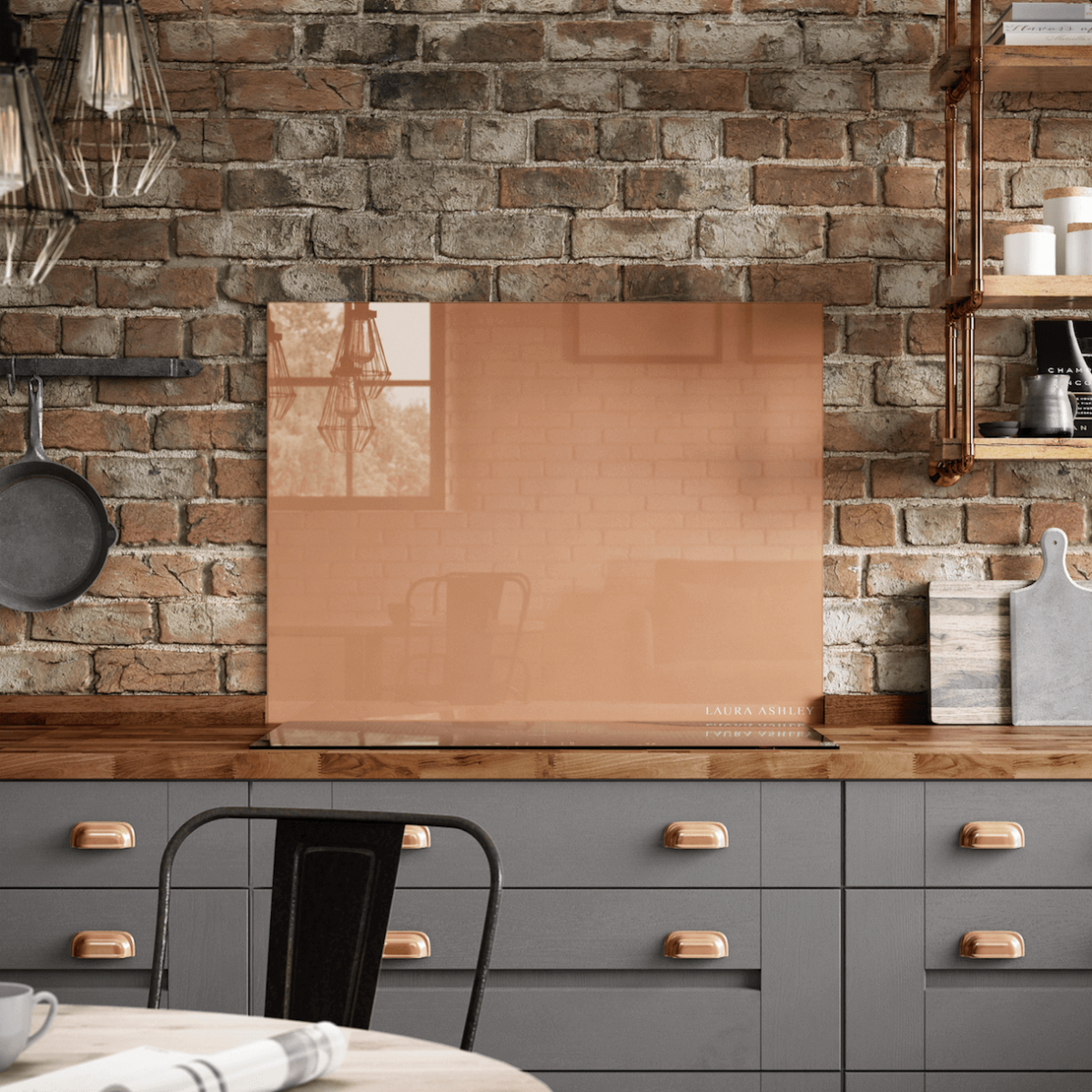 Laura Ashley The Splashback Collection Copper Splashback