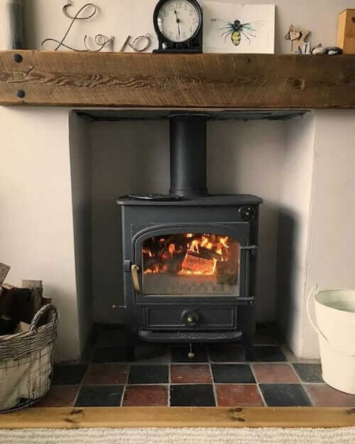 Heat Resistant Tiles: Can you use tiles around a wood burner