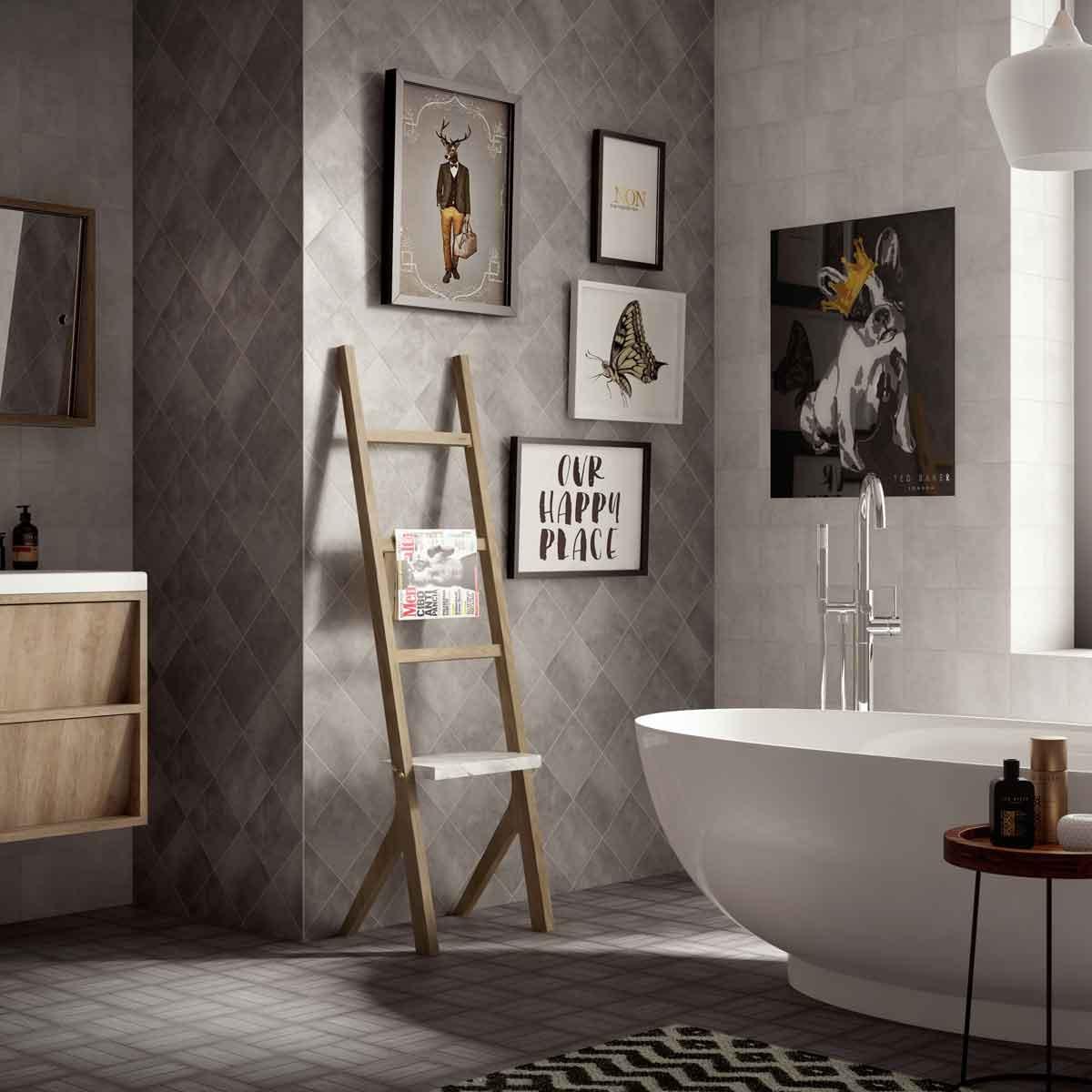 Buy versatile tiles online british ceramic tile small light grey matt wall floor dailygadgetfo Gallery