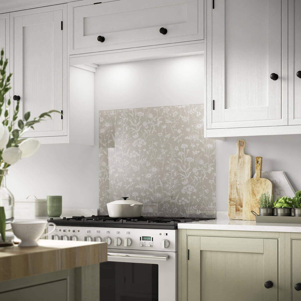 Glass wall tiles splashbacks glass mosaic tiles british new dailygadgetfo Images