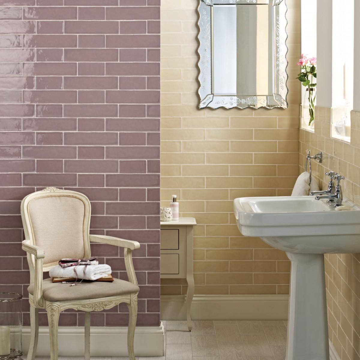 Laura ashley artisan amethyst wall british ceramic tile dailygadgetfo Images