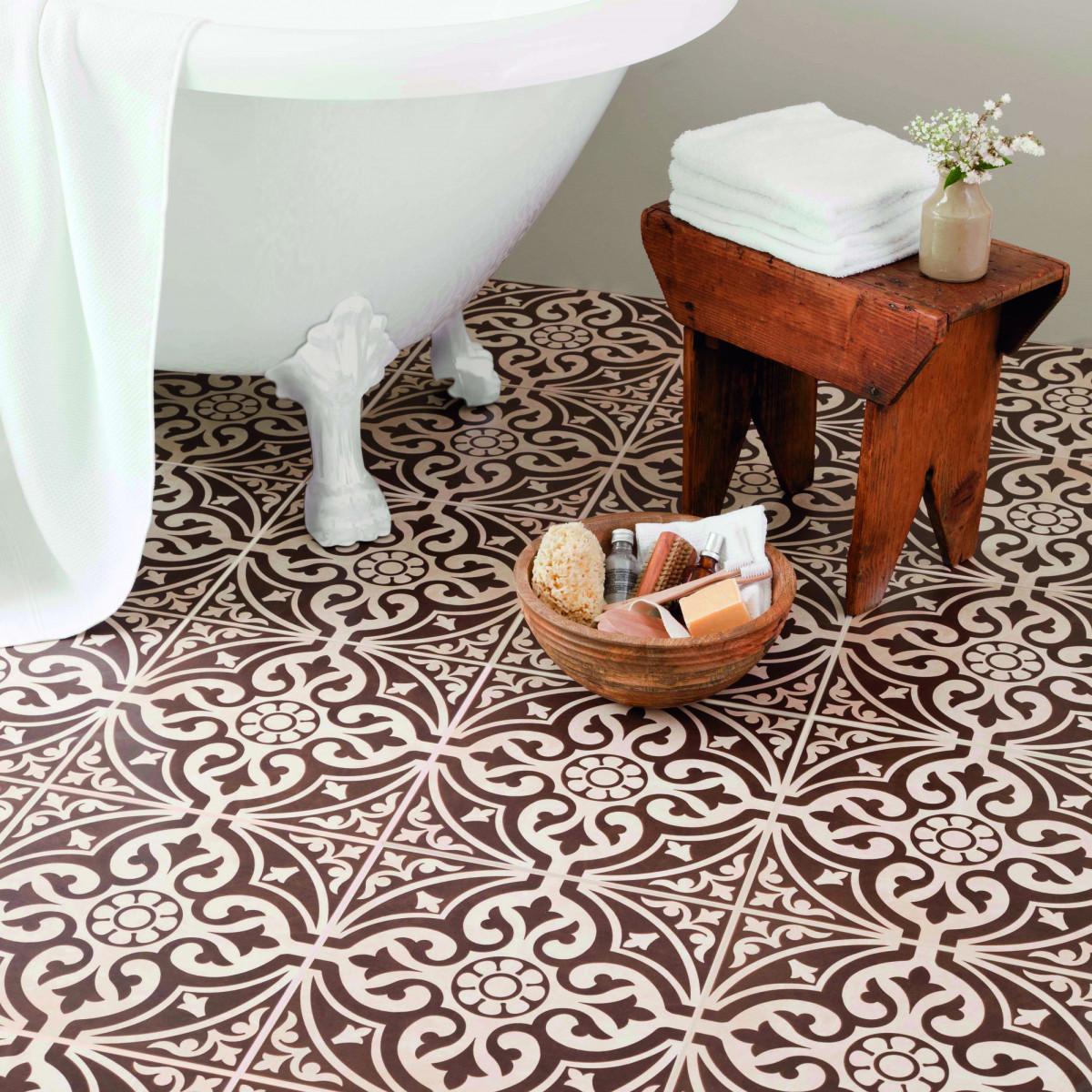 British ceramic tile brown satin floor british ceramic tile dailygadgetfo Choice Image