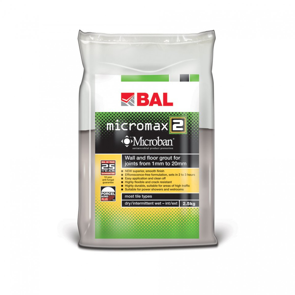 BAL Grout Micromax 2 Grout Jasmine 2.5Kg