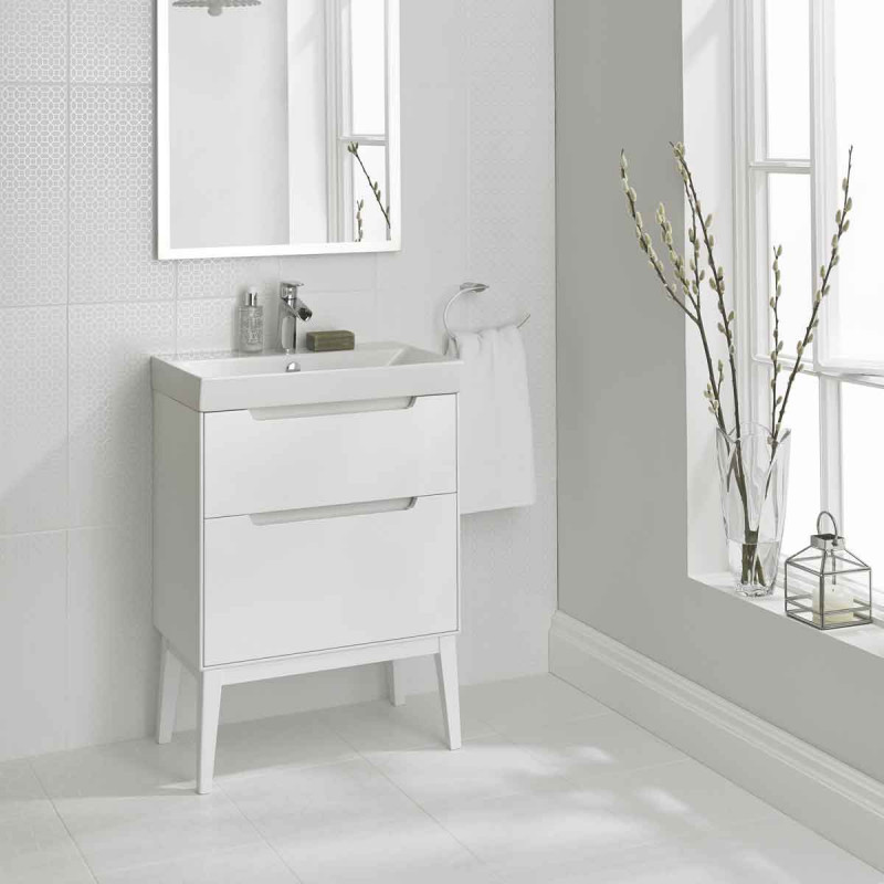 Laura Ashley The White Collection Marise Floor