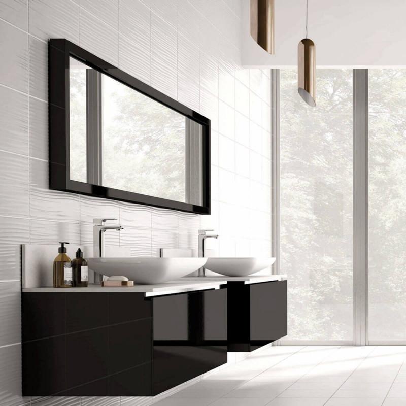 British Ceramic Tile Form White Gloss Wall