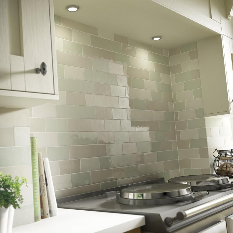 Laura Ashley Willow Wall British Ceramic Tile - Artisan tiles sale