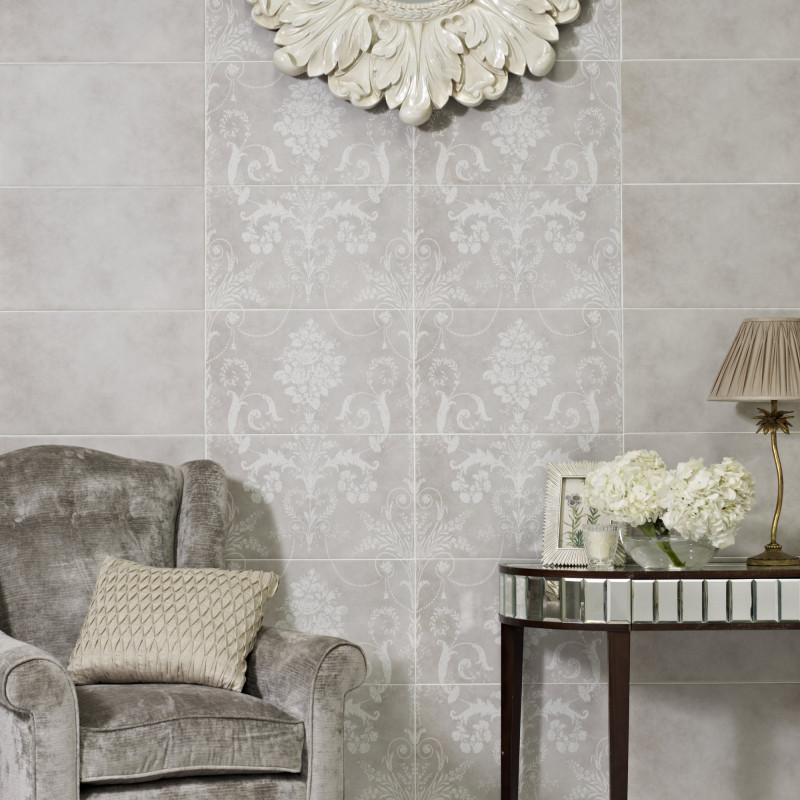 Laura Ashley Josette Dove Grey Decor Wall Part B British Ceramic - Laura ashley grey living room