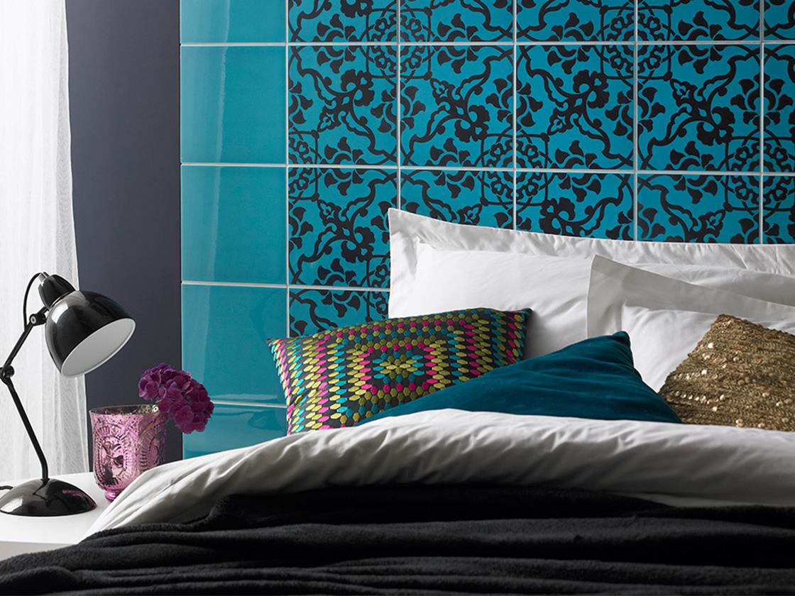 Ceramic tile bedroom